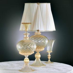 Lampada da tavolo in vetro di Murano CANALETTO L25