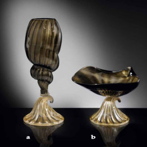 Vasi in vetro di Murano CANALETTO V39