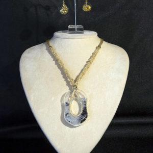 Collane Foglia oro e argento