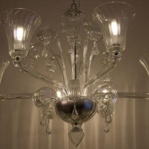 Lampadario in vetro di Murano DOGI IC20